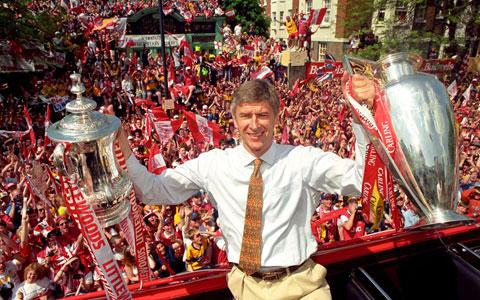 Arsene Wenger đã giành nhiều thành tích cùng Arsenal