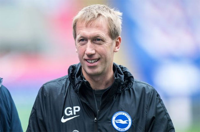 HLV Graham Potter đang giúp Brighton bay cao ở Premier League