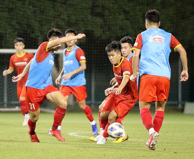 Tại vòng loại U23 châu Á 2022, ĐT U23 Việt Nam ở cùng bảng với Đài Bắc Trung Hoa và Myanmar