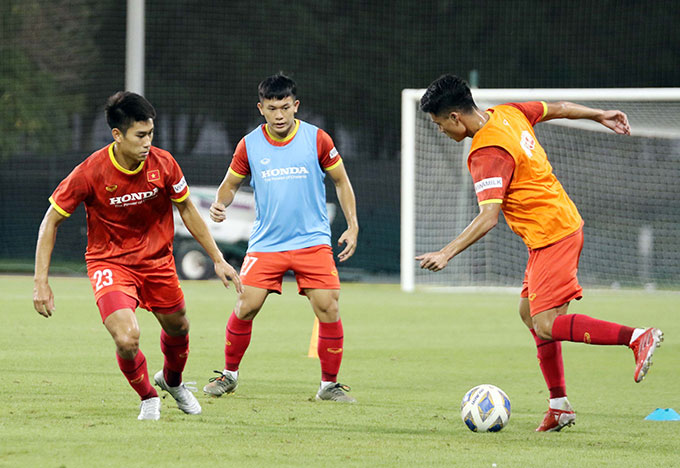 Với danh tiếng đó, nên không ngạc nhiên khi chất lượng sân tập tại đây đẹp trên mức tưởng tượng của các thành viên ĐT U23 Việt Nam.