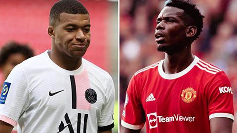 Real Madrid tự tin sở hữu cả cặp Pogba và Mbappe ở Hè 2022
