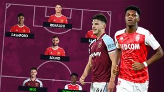 Đội hình Man United sẽ 'khủng' như thế nào khi có Tchouameni và Rice?