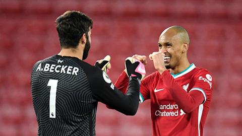 Liverpool mất cả Alisson và Fabinho ở trận gặp Watford