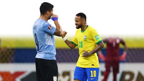 Neymar lại nhảy điệu Samba cùng ĐT Brazil