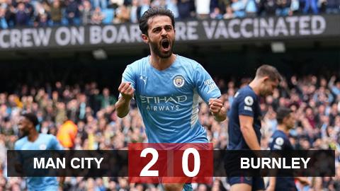 Kết quả Man City 2-0 Burnley: Chiến thắng nhẹ nhàng