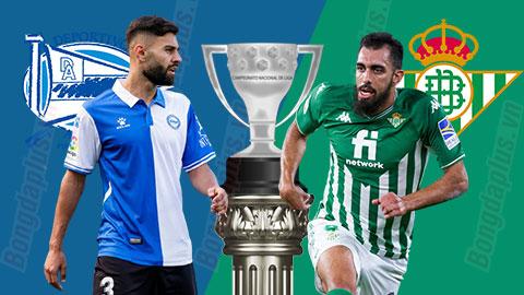 0h00 ngày 19/10: Alaves vs Betis
