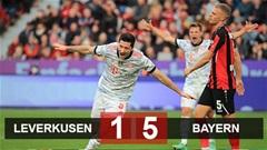 Kết quả Leverkusen 1-5 Bayern: Giúp Bayern hủy diệt Leverkusen, Lewandowski bắt kịp thành tích của Haaland