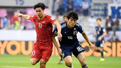 ĐT Nhật Bản chịu sức ép phải thắng bằng được ĐT Việt Nam