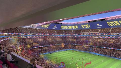 Barca xây tương lai bền vững bằng dự án cải tạo Nou Camp