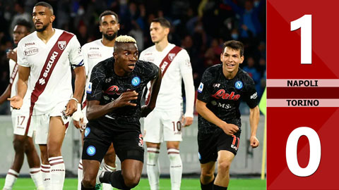 Napoli vs Torino: 1-0 (Vòng 8 Serie A 2021/22)