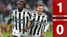 Juventus vs AS Roma: 1-0 (Vòng 8 Serie A 2021/22)