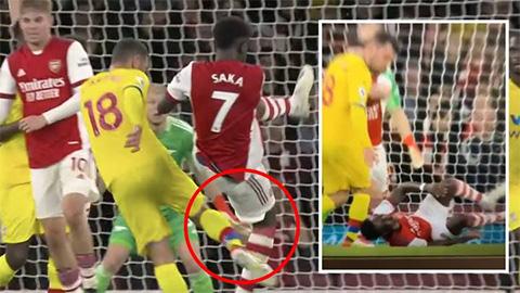 Điểm nhấn Arsenal 2-2 Crystal Palace: Pháo thủ bị trọng tài đối xử bất công?