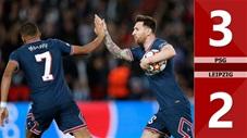 PSG vs Leipzig: 3-2 (Vòng bảng Champions League 2021/22)