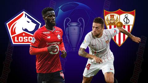 Nhận định bóng đá Lille vs Sevilla, 02h00 ngày 21/10: Khuất phục chủ nhà