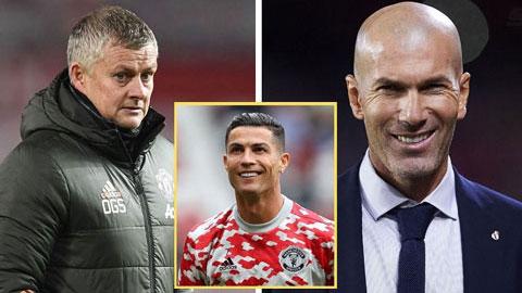 Solskjaer có 2 trận đấu để cứu ghế, Ronaldo đề xuất Zidane về thay