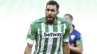 Borja Iglesias, chìa khóa  chiến thắng của Betis