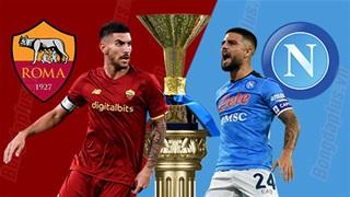 23h00 ngày 24/10: Roma vs Napoli