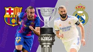 21h15 ngày 24/10: Barcelona vs Real Madrid