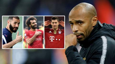 Henry kể tên 2 cầu thủ đang xuất sắc hơn Salah