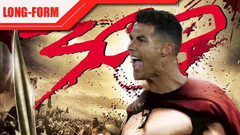 MU vs Atalanta: Ronaldo & tinh thần chiến binh '300'