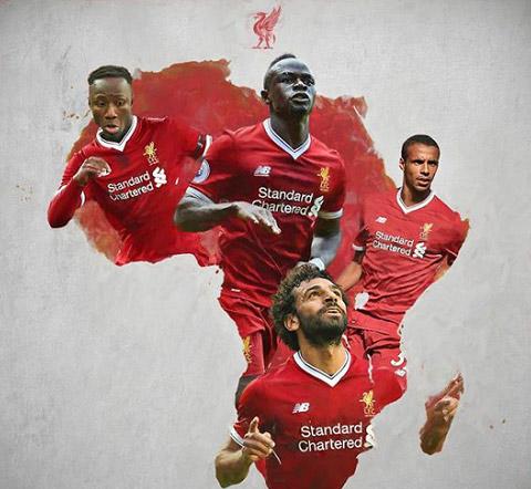 Liverpool nguy cơ mất Salah và Mane trong 8 trận