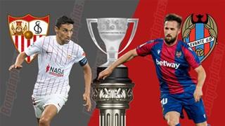 19h00 ngày 24/10: Sevilla vs Levante