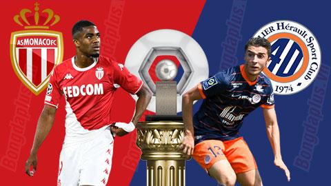 22h00 ngày 24/10, Monaco vs Montpellier