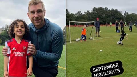 Arsenal chiêu mộ 'thần đồng' 4 tuổi được ví với Messi