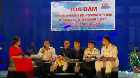 Lữ đoàn 147: Tọa đàm kỷ niệm 60 năm đường Hồ Chí Minh trên biển