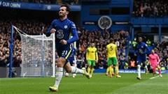 Ben Chilwell cân bằng kỷ lục của Lampard trong ngày Chelsea hủy diệt Norwich