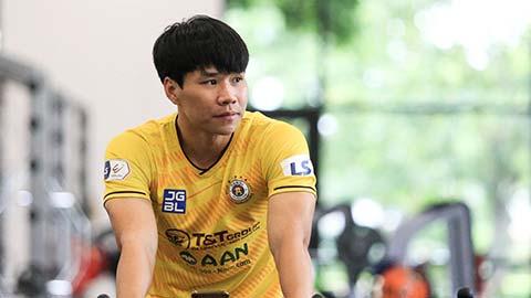 Hậu vệ Hà Nội FC không đốt giai đoạn hồi phục chấn thương dây chằng