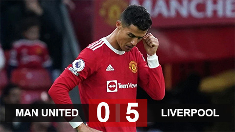 Kết quả bóng đá MU vs Liverpool: Thất bại nhục nhã của Quỷ đỏ