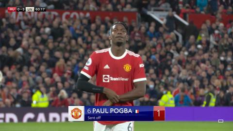 MU vs Liverpool: Pogba xuất hiện 14 phút,