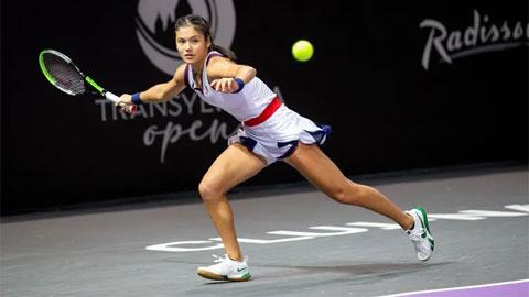Emma Raducanu thắng trận đầu tiên sau khi vô địch US Open 2021