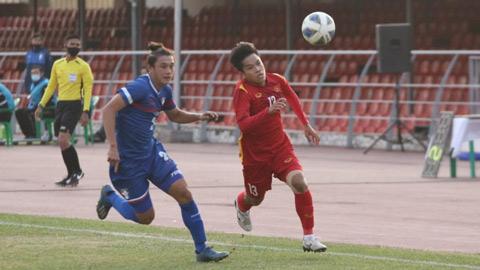 5 điều rút ra sau trận U23 Việt Nam thắng vất vả U23 Đài Bắc Trung Hoa