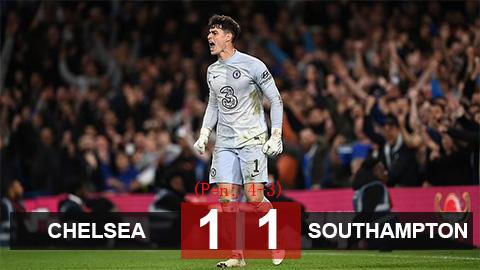 Chelsea 1-1 Southampton (4-3 pen): Người hùng Kepa