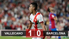 Kết quả Vallecano 1-0 Barca: Nguy rồi Koeman!