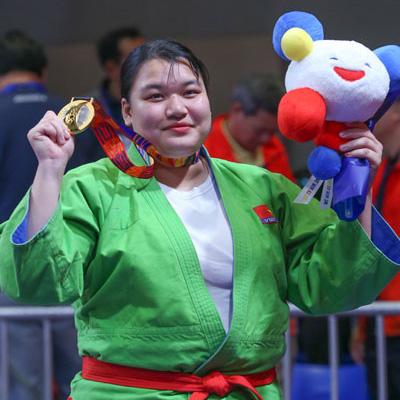 HCV Kurash, 70kg nữ