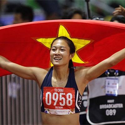 HCV Điền kinh, 100m nữ