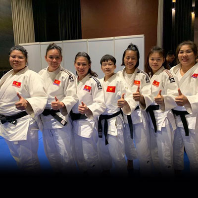 HCV Judo, đối kháng đồng đội nữ