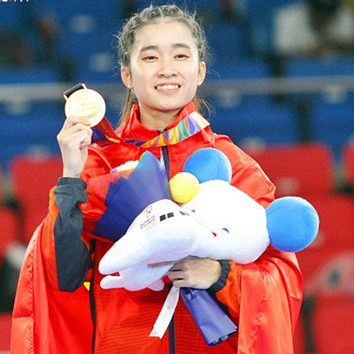HCV Taekwondo, quyền cá nhân nữ