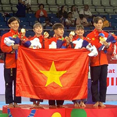HCV Taekwondo, quyền biểu diễn đồng đội hỗn hợp